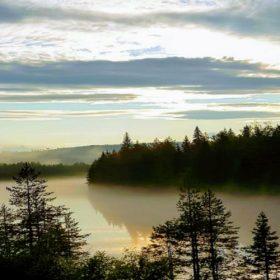 Dimma över Österdalälven