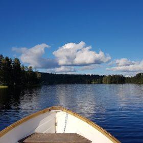 Båttur med fiske i Rämmasjön