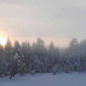 Vinterbild ifrån Rämma